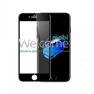 Скло iPhone 6 Plus/6S Plus 5.5 (0.3 мм, 4D ARC, чорне) Люкс