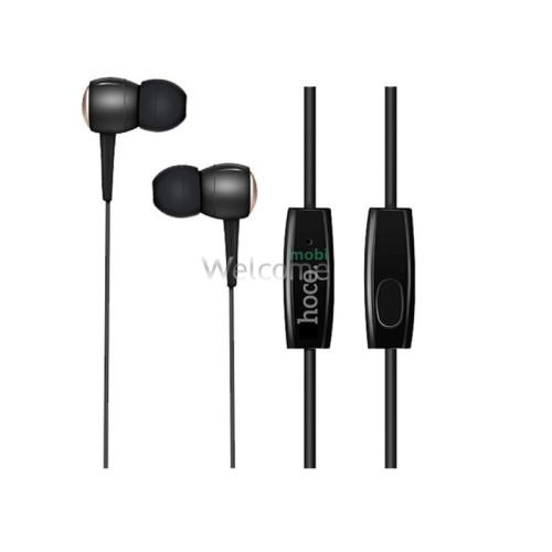 Навушники HOCO M19 Drumbeat Universal mini-jack black (with mic)