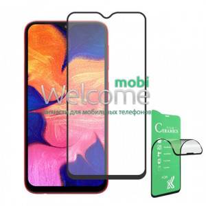 Скло Samsung A107 (2019) Galaxy A10S/M017 Galaxy M01S Full Glue Ceramics black