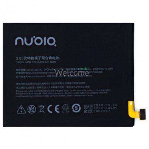 АКБ ZTE Nubia Z11 NX531J/M2 Lite/M2 Play (Li3829T44P6h806435) (AAAA)