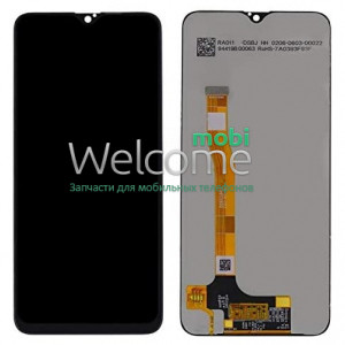 Дисплей Realme 3 Pro (RMX1851) в зборі з сенсором black (rev.V02)