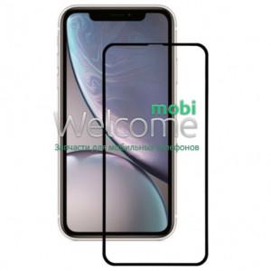 Скло iPhone XR (2018)/11 6.1 (0.3 мм, 5D, чорне) ТОП