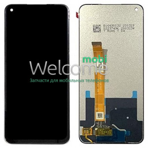 Дисплей Realme 6 (RMX2001)/OPPO A52/A72/A92 with touchscreen black Original PRC