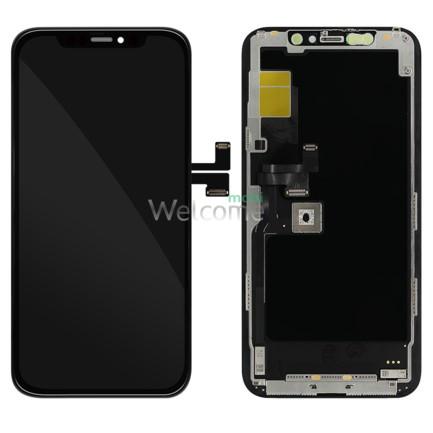 Дисплей iPhone 11 Pro в зборі з сенсором та рамкою black (in-cell TFT AAA+)