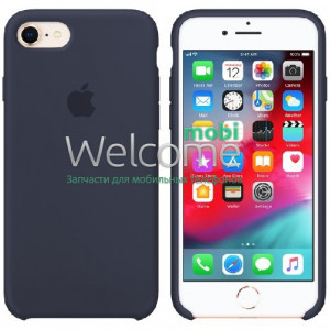 Silicone case for iPhone 7/8/SE 2020 ( 8) midnight blue