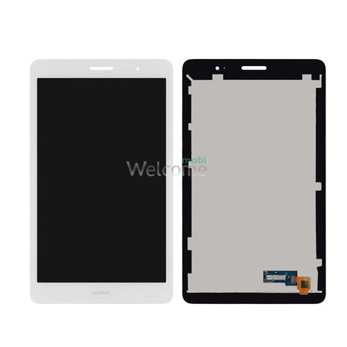Дисплей до планшету Huawei MediaPad T3 8.0 (KOB-L09) в зборі з сенсором white