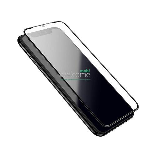 Скло iPhone X/XS/11 Pro 5.8 AIRBAG Japan HD чорне