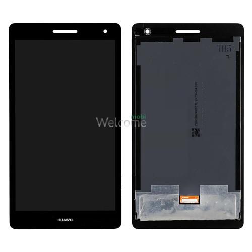 Дисплей до планшету Huawei MediaPad T3 7.0 3G (BG2-U01) в зборі з сенсором black (high copy)