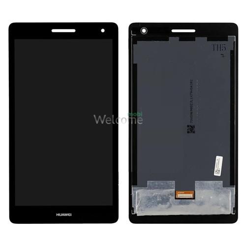 Дисплей до планшету Huawei MediaPad T3 7.0 3G (BG2-U01) в зборі з сенсором black (orig)