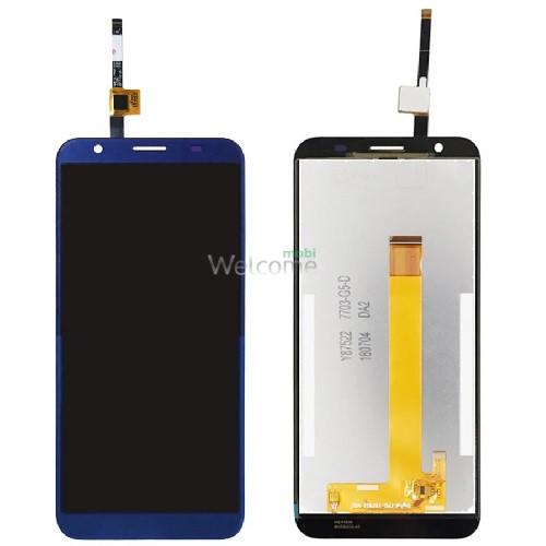 Дисплей Doogee X55 with touchscreen blue