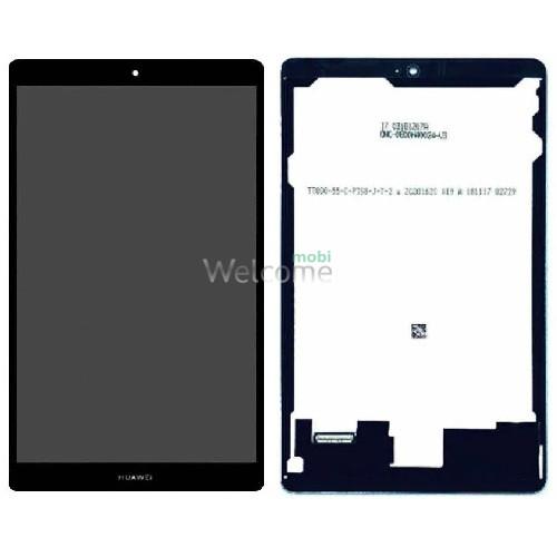Дисплей до планшету Huawei MediaPad M5 Lite 8.0 в зборі з сенсором black