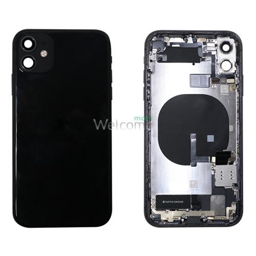 Корпус iPhone 11 black (оригінал) A+
