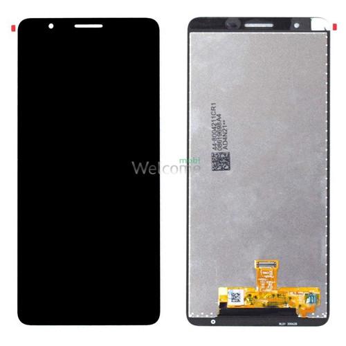 Дисплей Samsung SM-A013/SM-M013 Galaxy A01/M01 Core (2020) black в зборі з сенсором service orig