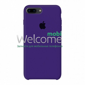 Silicone case for iPhone 7 Plus/8 Plus (30) ultra violet