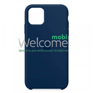 Silicone case for iPhone 12/12 Pro ( 8) midnight blue