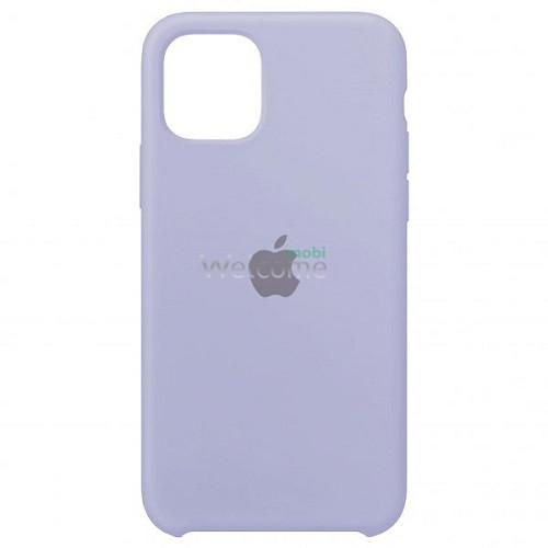 Silicone case for iPhone 12/12 Pro ( 5) lilac cream