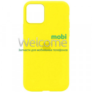 Silicone case for iPhone 12 Pro Max ( 4) yellow