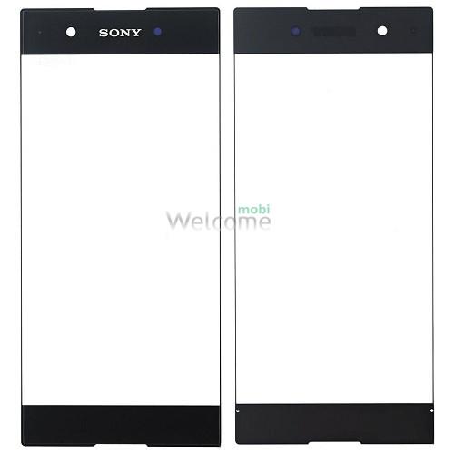 Скло корпусу Sony G3412 Xperia XA1 Plus Dual black