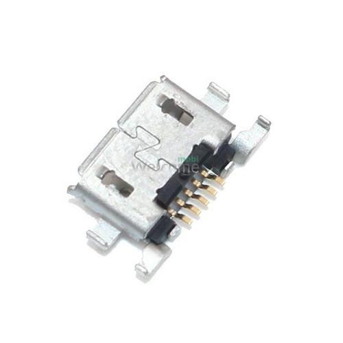Конектор зарядки Xiaomi Mi A2 Lite/Redmi 6 Pro/Redmi 6A/Redmi 7 24pin (5 шт.)