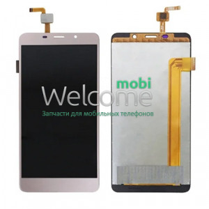 Дисплей Leagoo M8 with touchscreen gold