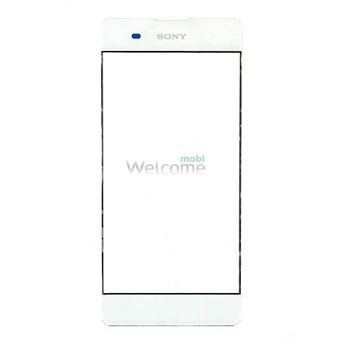 Скло корпусу Sony F3112 Xperia XA Dual white
