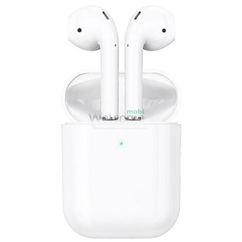 Навушники бездротові HOCO ES39 з підтримкою бездротової зарядки, білі