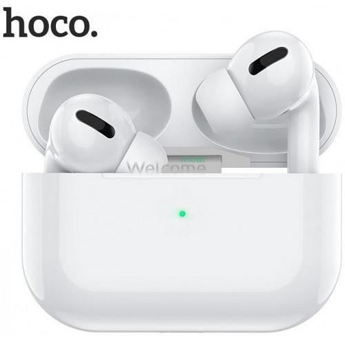 Навушники бездротові HOCO ES36 з підтримкою бездротової зарядки, білі