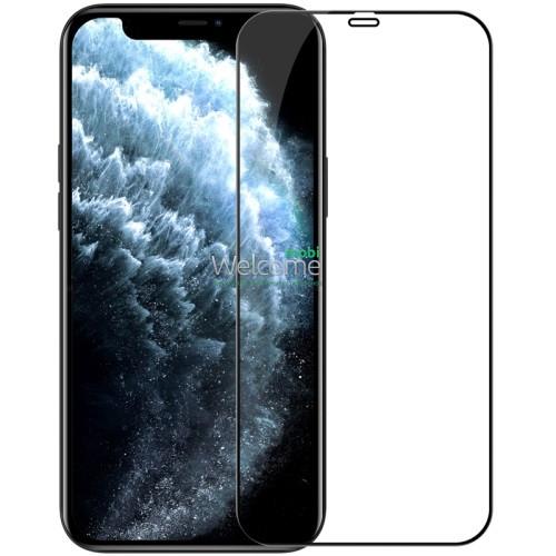 Скло iPhone 12 Pro Max 6.7 Japan HD++ чорне