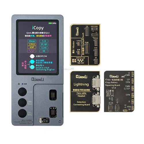 Програматор QianLi iCopy Plus 2.1 для дисплеїв iPhone 7-11 PRO MAX, для АКБ iPhone 5-XS MAX