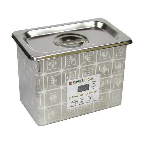 Ультразвукова ванна BAKU BK3050 в металевому корпусі (двох режимна 30W/50W, 0.7L)