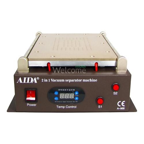 Сепаратор 14.0 (29,5х19 см) A-968 з вбудованим компресором для вакуумного способу фіксації скла