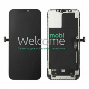 iPhone 12 Pro Max LCD with touchscreen and frame black (знятий оригінал)