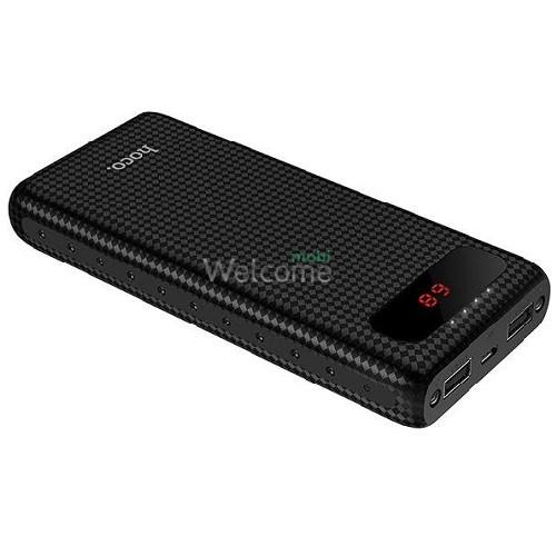 Зовнішній акумулятор (power bank) Hoco B20A Mige 20000 mAh black