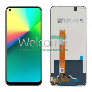 Дисплей Realme 7i/OPPO A32 2020/A33 2020/A53 2020 with touchscreen black