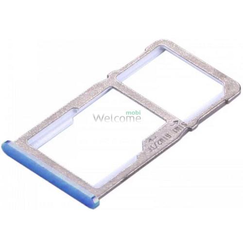Тримач SIM-карти Meizu M6 Note blue