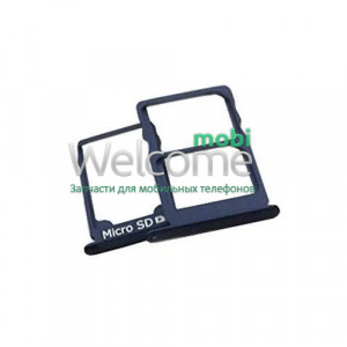 Тримач SIM-карти Nokia 3.1 (TA-1063) blue (dual sim)