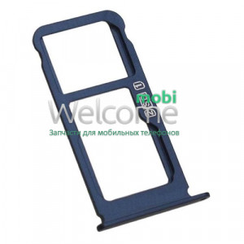 Тримач SIM-карти Nokia 6.1 Plus (TA-1116)/X6 2018 blue (dual sim)