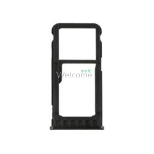 Тримач SIM-карти Nokia 5.1 Plus (TA-1105) black