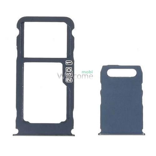 Тримач SIM-карти Nokia 3.1 Plus (TA-1104) blue (dual sim)