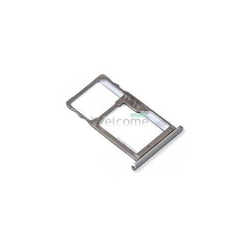 Тримач SIM-карти Meizu M3 Note silver