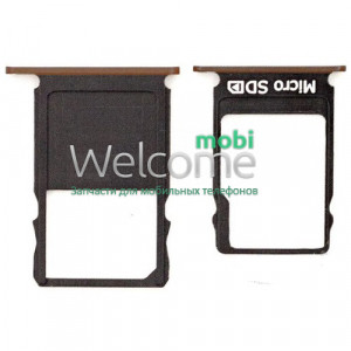 Тримач SIM-карти Nokia 3 (TA-1032) copper (dual sim)