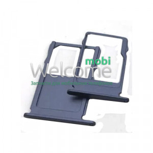 Тримач SIM-карти Nokia 3 (TA-1032) tempered blue (dual sim)