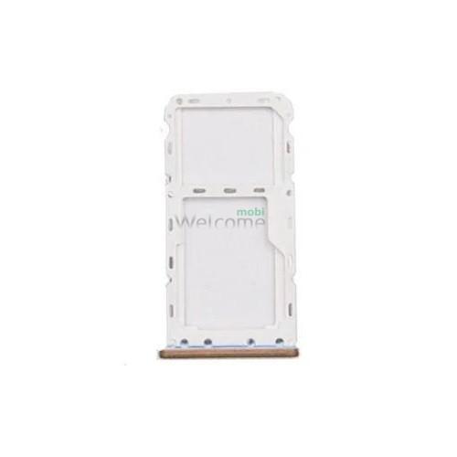 Тримач SIM-карти Meizu M6 gold