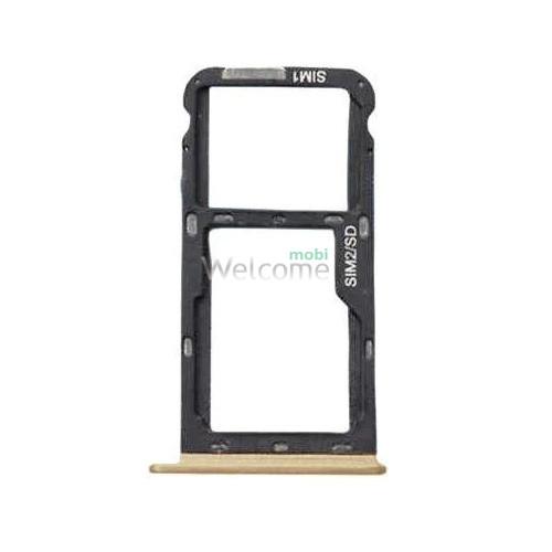 Тримач SIM-карти Meizu M5C gold