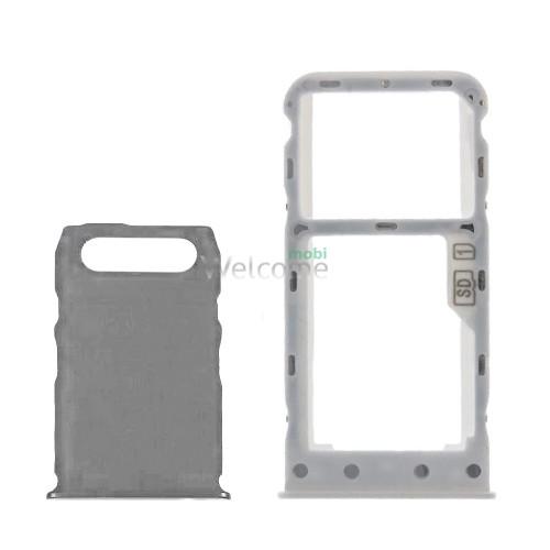 Тримач SIM-карти Nokia 3.1 Plus (TA-1104) white (dual sim)