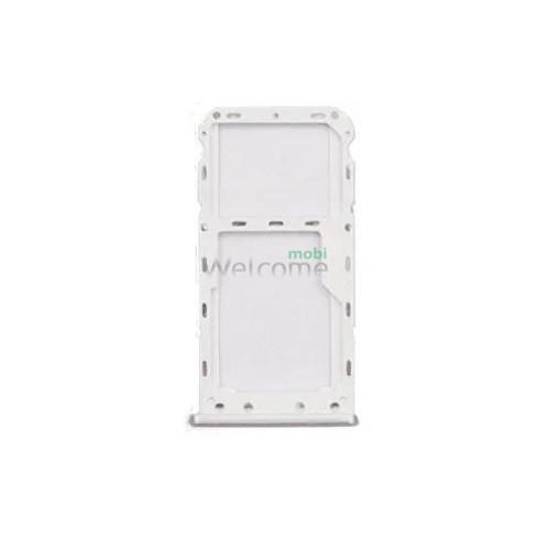 Тримач SIM-карти Meizu M6 silver