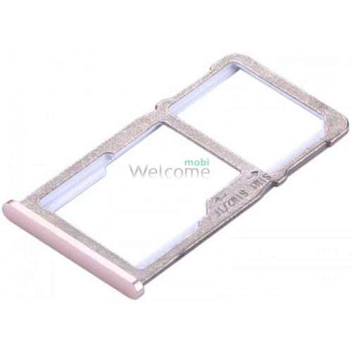 Тримач SIM-карти Meizu M6 Note gold
