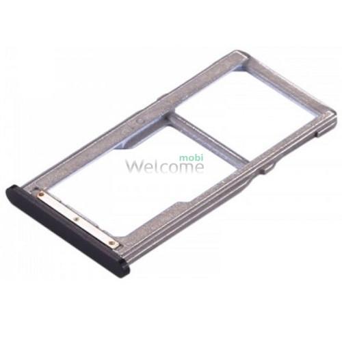 Тримач SIM-карти Meizu M6 Note black