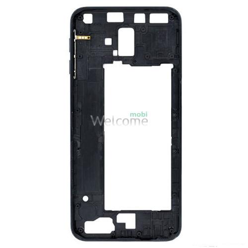 Рамка дисплею Samsung J610 Galaxy J6 Plus black