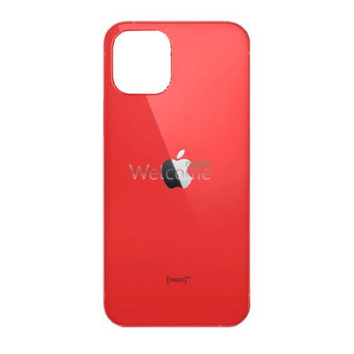 Задня кришка (скло) iPhone 12 mini red